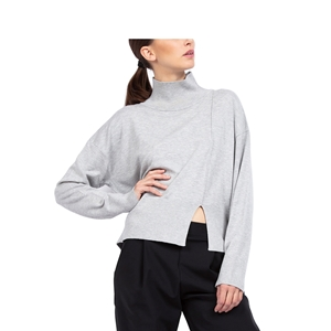 SIDE SLOT KNIT SWEATER