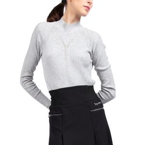 Fancy high-collar sweater