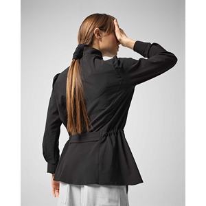 Stretch jersey fitted jacket