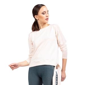 Fishnet sleeves tee-shirt