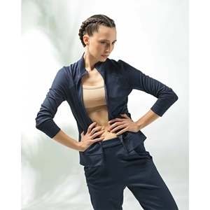 Interlock sports jacket