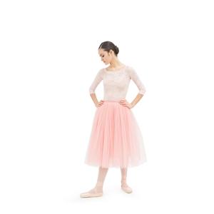Long tulle skirt Second