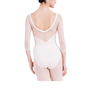 3/4 sleeved leotard with lace Second