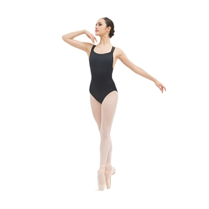 Thin straps crossed front leotard Second