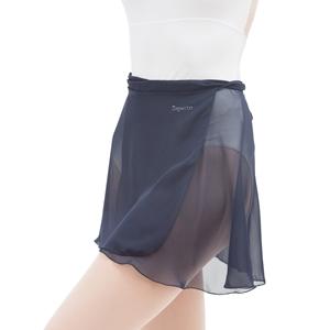 Short chiffon skirt Second