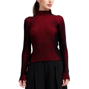 Bicolor rib-knit jumper Second
