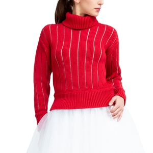 Fancy 3D knit sweater Second