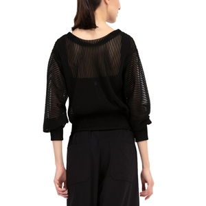 STRETCH MESH GRAPHIC TOP Second
