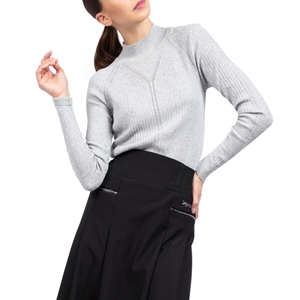 Fancy high-collar sweater Second