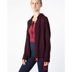 Zipped hooded cardigan Second