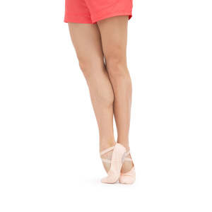 Soft ballet shoes with split sole Second