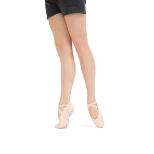 Soft ballet shoes with split sole Second