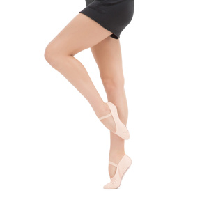 Soft ballet shoes with full sole Second