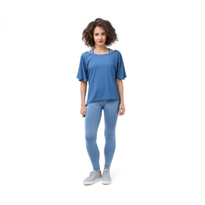 SHORT SLEEVES TOP IN SOFT VISCOSE Second