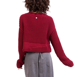 3D knit sweater Second