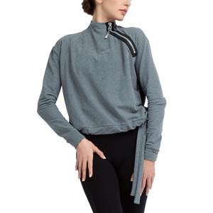 Power-stretch technical sweater Second
