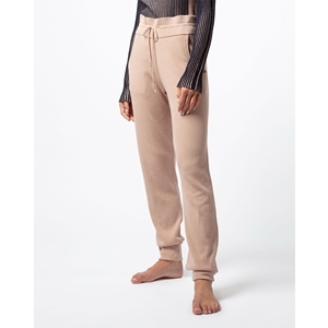 Straight knitted pants Second